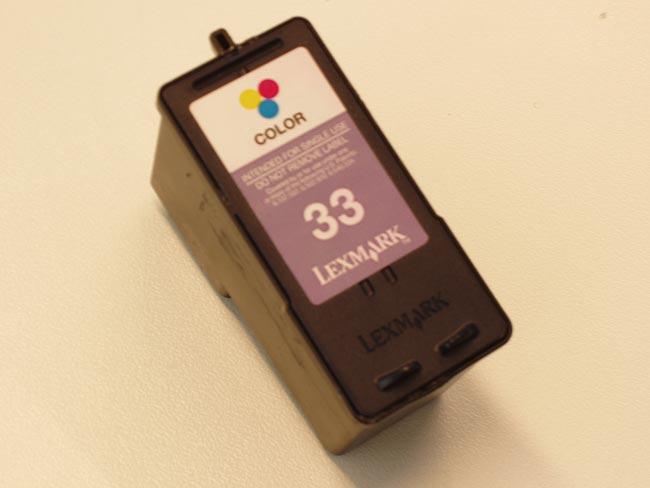 LEXMARK 33 color