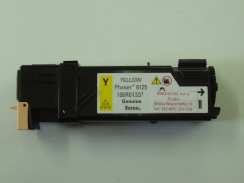 XEROX PHASER 6125 ( 106R01337 ) - YELLOW