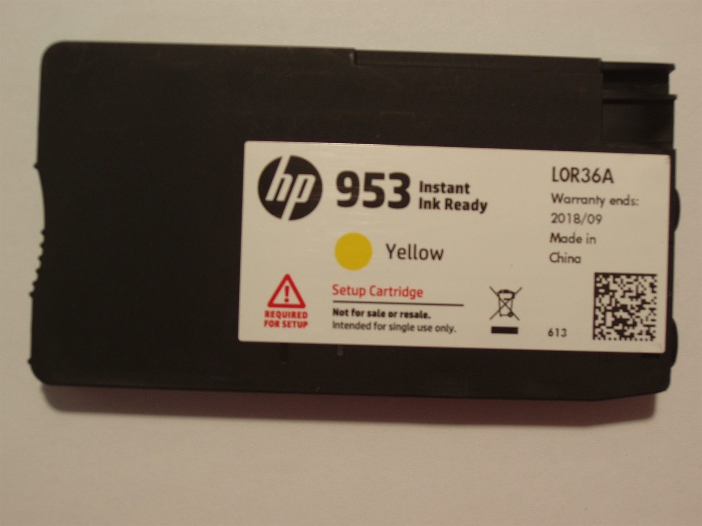 HP 953 XL yellow