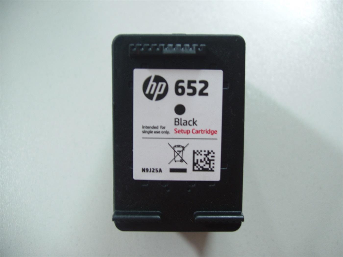 HP 652 (F6V25) black